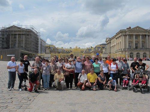 Comite de jumelage echanges - Visite du chateau de versailles ...